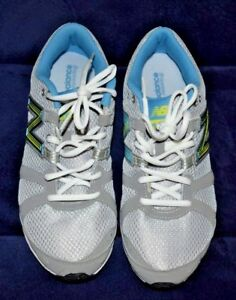 NWOB! Woman's NEW BALANCE Running shoes 690 size 10 Gray/blue neon Green