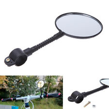 Road Bike Bicycle Cycling Rear View Mirror Plastic Handlebar Glass Rearview