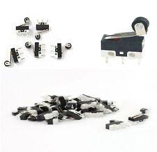 25 x Microswitch leva con rotella miniatura pulsante fine corsa 1A 250 V SPDT