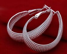 *UK* Classic Sterling Silver Plated Earrings