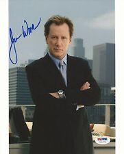 James Woods Signed Shark 8x10 Photo PSA/DNA COA Picture Autograph Casino Jobs