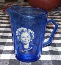Vintage Hazel-Atlas Ritz Cobal Shirley Temple Creamer Captain January Adorable!!