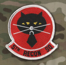 LOCKHEED U-2 DRAGON LADY HIGH ALTITUDE SPY PLANE BLACKCAT SQN 5TH RECON PATCH