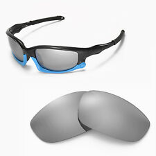 New Walleva Polarized Titanium Lenses For Oakley Split Jacket