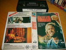 Vhs *A CASE OF HONOR(1989)* RARE Australian/Nz Filmpac Issue - Epic War Drama!
