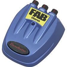 DANELECTRO D-5 FAB CHORUS GUITAR EFFECTS PEDAL D5