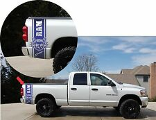Bed Fender Vinyl Decal Stripes Fits Dodge Ram 1500 Hemi Sport SLT RT Crew Cab