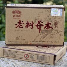 2013 Lao Tong Zhi Old Tree Qiao Ripe Puer Brick HaiWan Old Comrade Puerh 250g