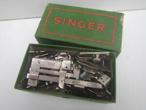 Vintage SINGER Sewing Machine Attachments