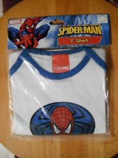 THE AMAZING SPIDER-MAN New Blue Trim Short Sleeve T-Shirt 6-12 Months