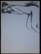 Jean Pierre Cassigneul : Lithographie Originale.
