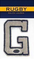 RUGBY RALPH LAUREN G CHENILLE LETTERMAN PATCH RLFC Polo P-wings Stadium 92 Ski