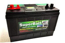 12V 120AH SB LM120 Super Heavy Duty Deep Cycle Leisure Battery - SILVER 9000