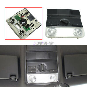 Dome Light Map Reading Lamp Black for VW Golf Jetta Passat 1KD947105 New