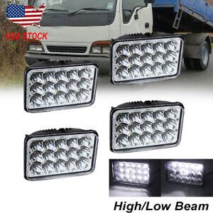 "4x6 Headlamp 4x6"" LED Headlight Hi/Lo Sealed Beam For Isuzu NQR NPR NPR-HD 08-13"