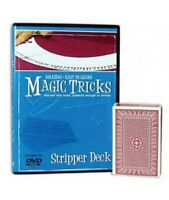 Amazing Easy to Learn Magic Tricks:  Stripper Deck - Magic Deck and DVD Combo!