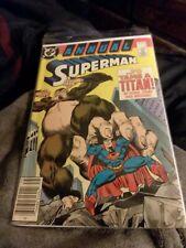 Superman Annual #1 VF Condition DC Comics 1987 (To Tame A Titan)