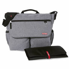 NEW SKIP HOP HEATHER GREY SIGNATURE BABY MATERNITY CHANGING BAG & ACCESSORIES