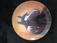 Horse collector plate Black Magic Derk Hansen Danbury Mint