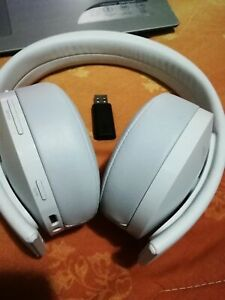 cuffie sony gold 7.1 bianco  Ps4