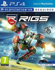 RIGS Mechanized Combat League VR PSVR PS4 * NEW SEALED PAL *