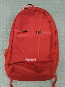 Supreme SS18 Red Cordura Backpack