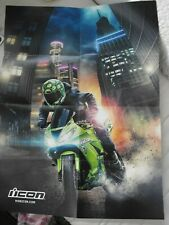 "POSTER, ICON AIRFORM RUBICON VARIANT PRO, 18"" X 24"", FALL 2019 HELMET COLLECTION"