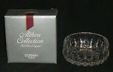 """Gorham ALTHEA Bowl 4.5"""" Vtg Lead Crystal Made in West Germany In Box"""