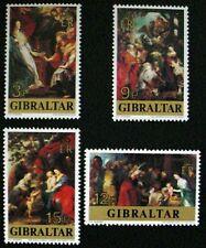 GIBRALTAR 1977: CHRISTMAS: SET OF 4 MNH STAMPS