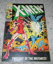 X-men 52 Beast Cyclops Marvel Girl Iceman Original team Lot Mcu