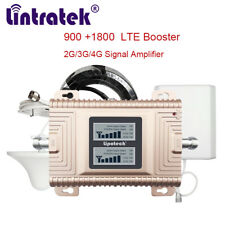 4G LTE Repeater B3 1800 Dual Band Booster gd Cellular Phone GSM Amplifier Europe
