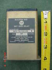 New listing Vintage Allen-Bradley Dry Reed Relay Series B 24V Dc Coil Industrial Automation