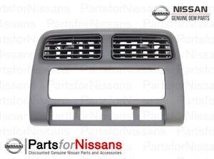 Genuine Nissan 1995-1998 240SX Center A/C Vent Control Panel Trim Bezel NEW OEM