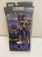 Hasbro Marvel Legends Kid Nova Guardians Of The Galaxy Titus BAF Torso MISB