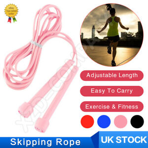 Skipping Rope Jumping Speed Boxing Exercise Fitness Adult Weight Kids Jump UK