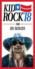 3'x6' Kid Rock for Senate - Vertical Vinyl Banner Sign - 2018, 2020 Congress