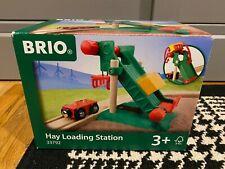 Brio World Wooden Railway - Hay Loading Station #33792 - Wooden Trains - MINT!