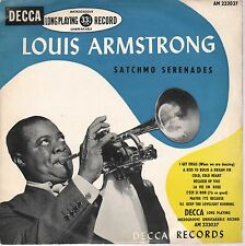 "Louis Armstrong With Orchestra Directed By Sy Oliver -Decca AM233037-10""- France"