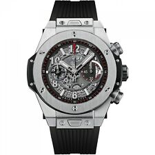 NEW Hublot Big Bang Unico Titanium 45mm Automatic Men's Watch 411.NX.1170.RX