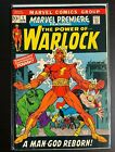 Marvel Premiere #1 - 1972 1st Adam Warlock HIM GOTG3!
