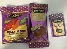 Jelly Belly Harry Potter Bertie Botts Beans, Chocolate Frog & Jelly Slug