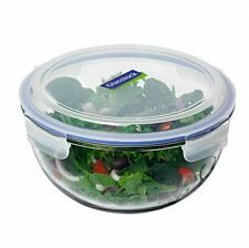 NEW GLASSLOCK MIXING STORAGE BOWL TEMPERED GLASS 2L LOCK LID BPA FREE GLASS