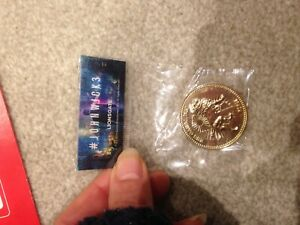 JOHN WICK cosplay Challenge Coin FREE COIN STAND AND BRAND NEW FITTED COIN CAPSv