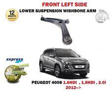 FOR PEUGEOT 4008 1.6 1.8 2.0 2012-> FRONT LEFT LOWER WISHBONE SUSPENSION ARM