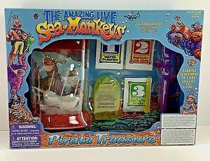 The Amazing Live Sea Monkeys Pirate Treasure SEALED