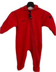 JAKO-O Overall Anzug Fleece Größe 80/86 rot unisex