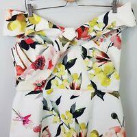 [ JAYSON BRUNSDON ] Womens Off shoulder Floral Dress NEW | Size AU 14 or US 10