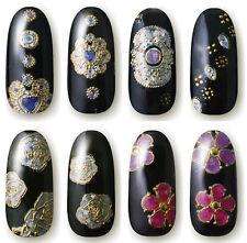 ADESIVI GIOIELLO iridescenti oro olografici per unghie nail ART JEWEL stickers