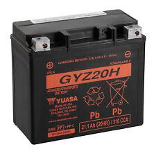 Genuine Yuasa GYZ20H 12V 310A CCA Motorbike Motorcycle Battery