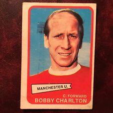 1968/69 A&BC Footballer Set BOBBY CHARLTON #63 MANCHESTER UNITED - VG/VG-EX